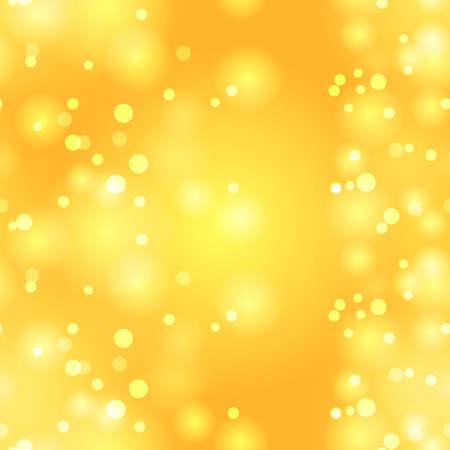 Glittery vintage yellow seamless pattern.