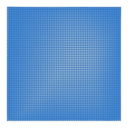 Pattern squares in grid, web blue banner background.