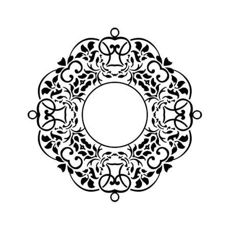Vector creative drawing decorative ornament