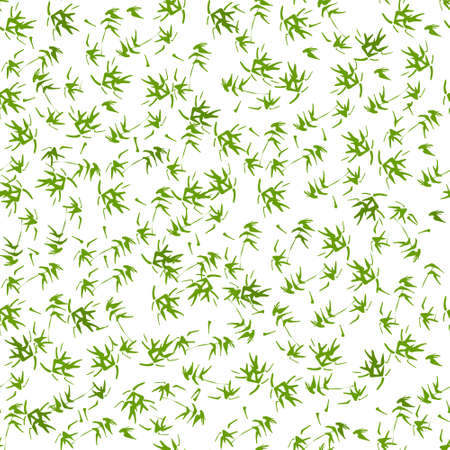Seamless pattern vector bamboo leaves and oriental style design for fashion, fabric, wallpaper on background.