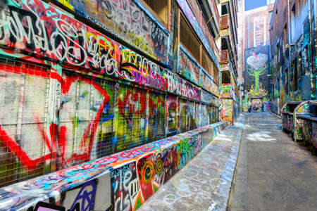 grafitti: Melbourne Street art