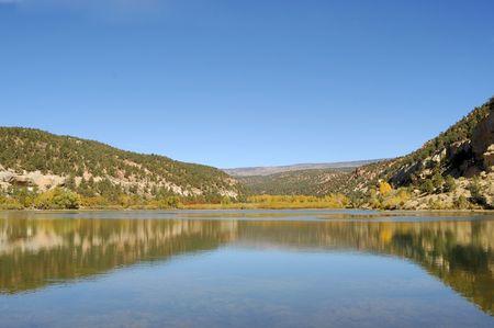 escalante: Boulder Mountain Utah reservoir