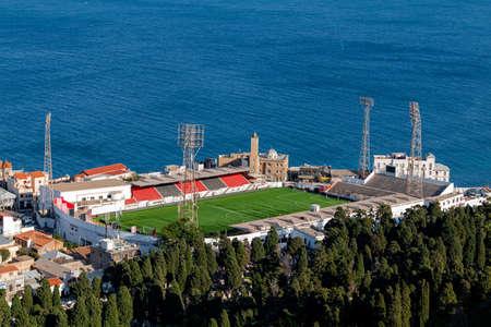 Bologhine stadium in Algiers city Zdjęcie Seryjne