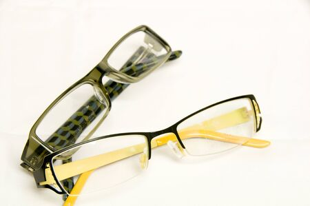 Designer eye glass frames for optical correction of vision
