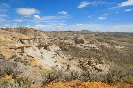 Honeycomb buttes in wilderness study area near TenSleep Wyoming Reklamní fotografie