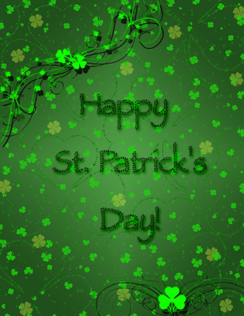 happy St. Patricks card