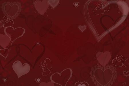 fondo rojo: San Valentín