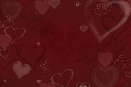 red and white: valentines Stock Photo