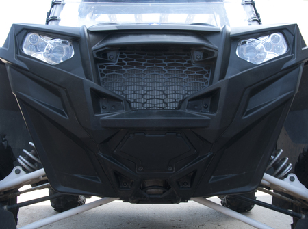 Detail Front of UTV off road vehicle for sport riding
