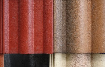 roof tiles: Abstract background of overlapping roof tiles
