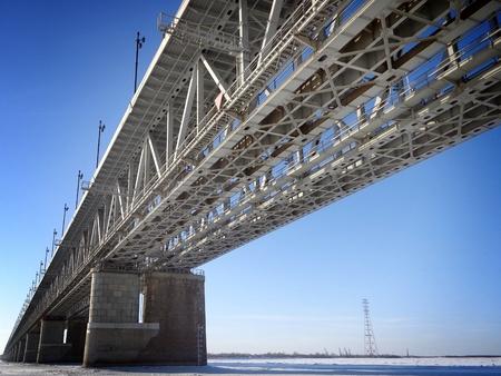 amur: Amur bridge Stock Photo