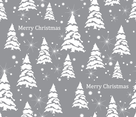 Merry Christmas Pattern Ilustrace
