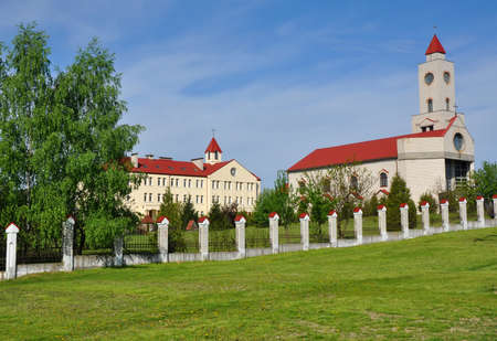house of god: The territory of the convent in Baranovichi. The main buildings were built after 1990