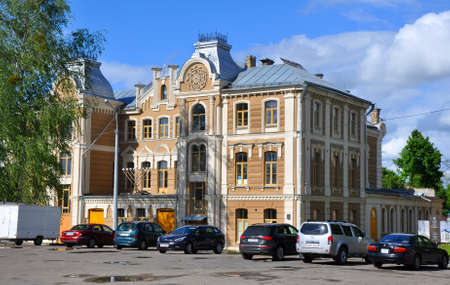 eclecticism: Great Choral Synagogue in Grodno - one of the oldest synagogues in Europe Editorial