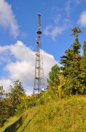 abkhazia: Television tower. Sukhum. Abkhazia