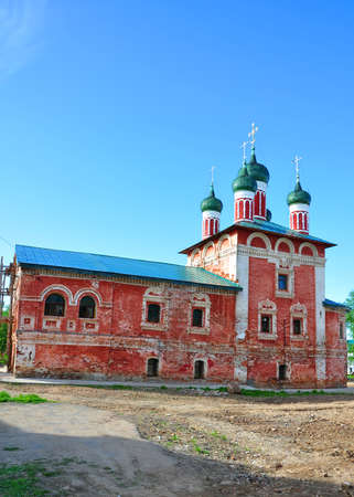 uglich russia: Church of the Smolensk Icon of the Mother of God. Uglich, Russia Stock Photo