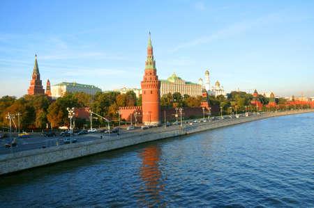 Moscow Kremlin from the Kremlin embankment