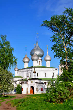 uglich russia: Cathedral of the Resurrection in the monastery. Uglich. Russia