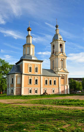uglich russia: Church of Our Lady of Kazan. Uglich. Russia