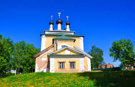 uglich russia: Church of the Holy Martyrs Florus and Laurus. Uglich, Russia Stock Photo