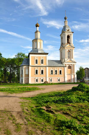 uglich russia: Church of the Kazan Icon of the Mother of God. Uglich, Russia