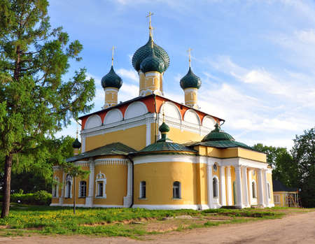 Transfiguration Cathedral in the Uglich. Russia