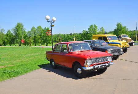 gorki: Soviet cars in the Museum-Reserve Gorki Leninskie. Moscow region. Russia