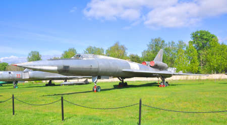 blinder: The supersonic long-range bomber Tu-22 to the Air Force Museum in Monino. Moscow Region, Russia