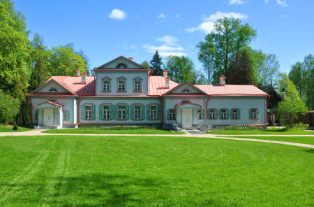 Manor house in the Museum-Reserve Abramtsevo. Moscow Region, Russia