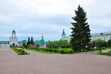 The territory of the Rostov Spaso-Yakovlev monastery. Russia