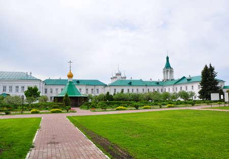On the territory of the Savior-Yakovlev monastery in Rostov. Russia Editorial