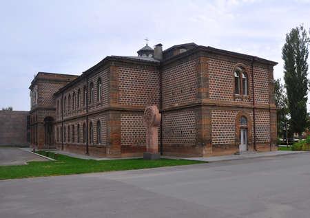 Gevorgyan Seminary in Echmiadzin monastery.  Founded in 1874. Vagharshapat, Armenia