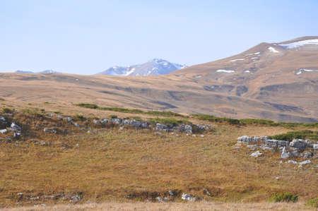 Mount Oshten and Mount Abadzesh. Caucasian Reserve. Russia