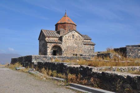 Church of St. Karapet in Sevanavank monastery. Armenia