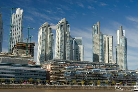 aires: Skyscrapers in Puerto Madero, Buenos Aires, Argentina