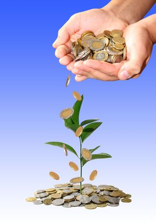 Investment concept photo
