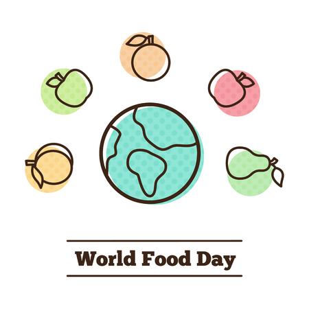 World Food Day. Vector Illustration.