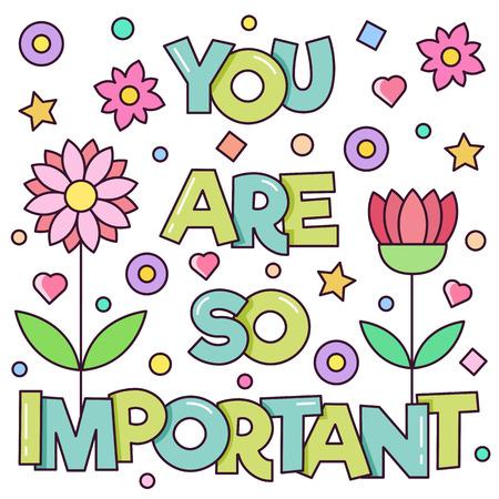 あなたが非常に重要