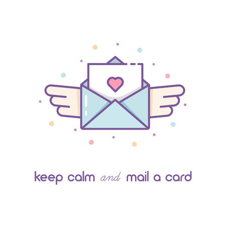 Mail icon. vector illustration. Stok Fotoğraf
