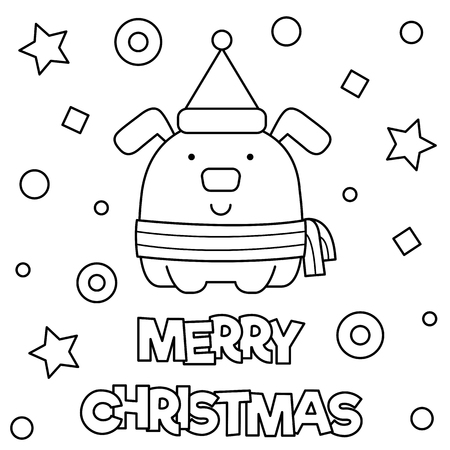 Coloring page. Vector illustration. Stock Illustration - 90299759