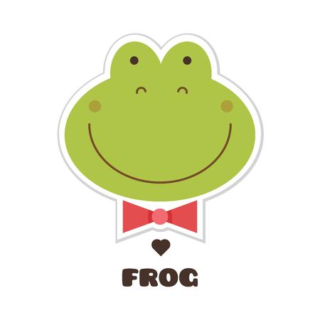 Frog vector illustration. Illustration