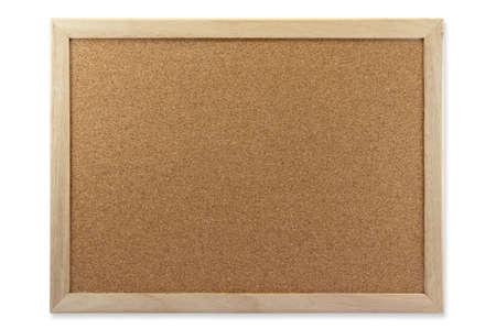 cork: Abono Cork Board aislada sobre fondo blanco