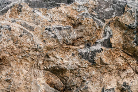 Patterned surface of the stone Stock Photo