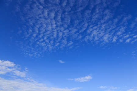 The from of clouds and blue sky Stock Photo