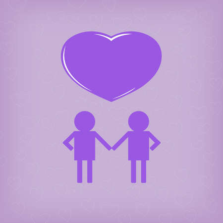 homosexual: The World Of Purple Concept Homosexual