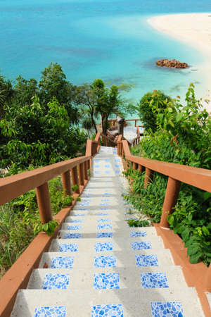 Stair down to the beach