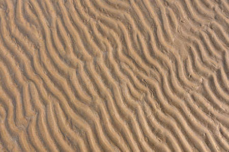 Ripple of Sand beach can used for background Stock Photo