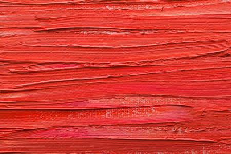 cuadros abstractos: Pinturas abstractas de colores rojo en relieve decoraci�n Foto de archivo