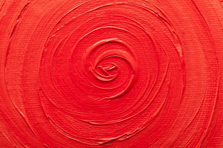abstract paintings: Abstract paintings of red colors embossed decoration