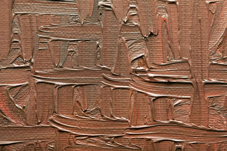 abstract paintings: Abstract paintings of brown colors embossed decoration